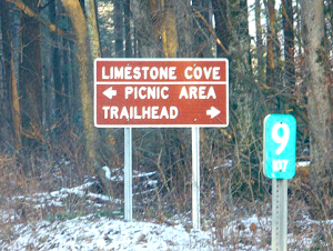 Back Country Horsemen of East Tennessee - Limestone Cove sign